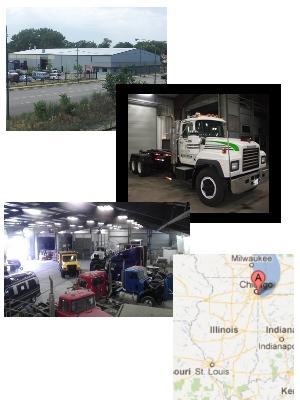 Chicago Auto Body Repair on Act Auto Jobs  Vaccaro Truck Body Repair   Chicago  Illinois   Auto